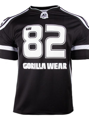 تی شرت اتلت 82 Athlete Gorilla Wear – مشکی سفید